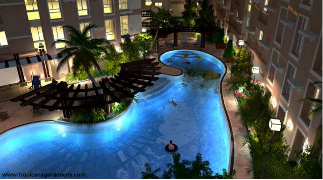 Tropicana garden city federal land condominiums for Garden town pool