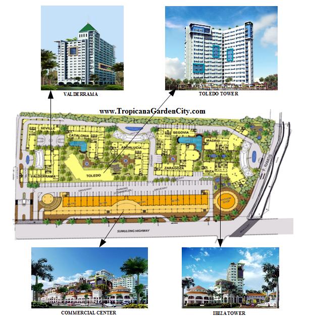 Tropicana Garden City in Marikina
