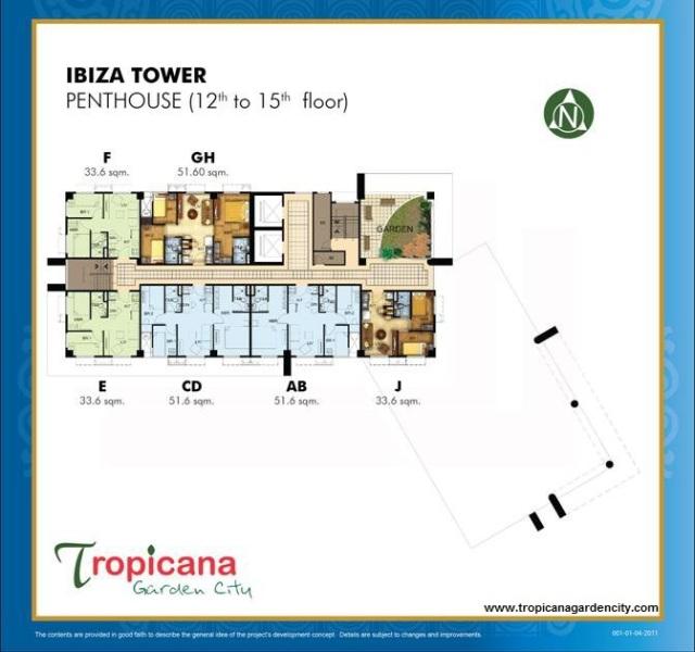 Tropicana Garden City Marikina (formerly Marquinto Terrace Residences)