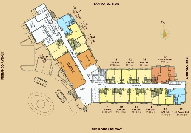 Tropicana Garden City Floor Plan