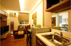 Model unit at Toledo Tower of Tropicana Garden City in Marikina
